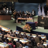 Justin Trudeau Speaking to the General Assembly