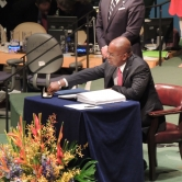 Minister of Sustainable Development of Saint Lucia, James Fletcher