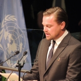 "Leonardo ""..Now is the time for bold unprecedented actions, the world is watching.."""