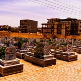 Civilian Graveyard from ISIS attack on Turkish Border in Kobanî