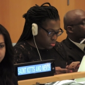 Saint Kitts and Nevis at the UN COP21 treaty signature