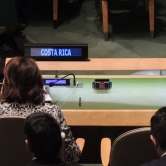 Costa Rica @ the UN COP21 treaty signature