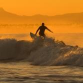 Surfing on Sunrise
