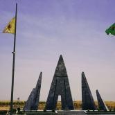 SDF/YPG/YPJ Graveyard in Kobanî