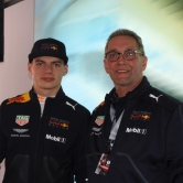 My Self with Max verstappen