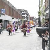 Parade in Derby