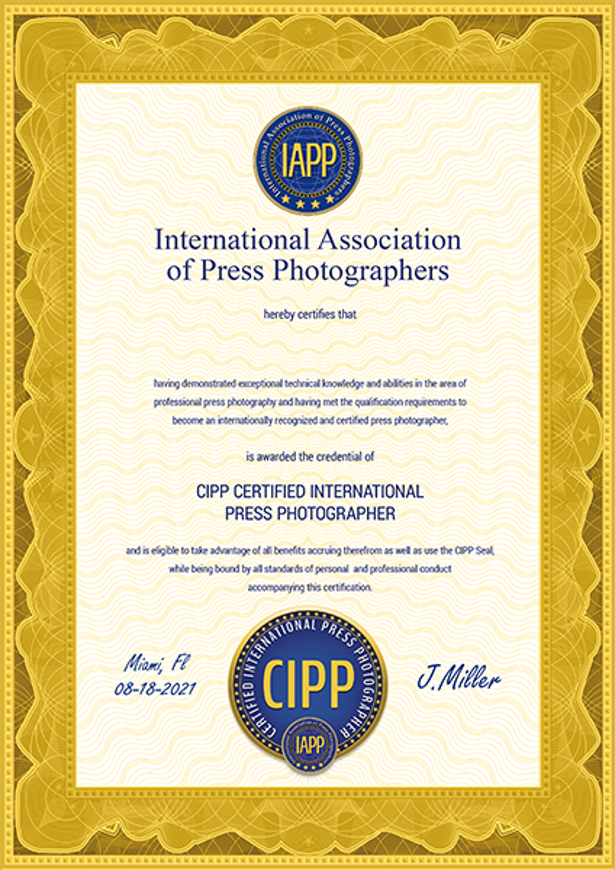 certificate cipp seal
